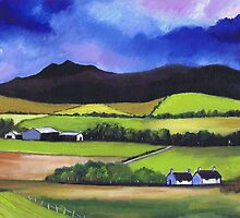 Bennachie near Old Meldrum by ALICE STUART