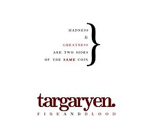 House Targaryen by bericed