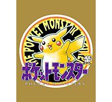Pokemon Origins: Yellow Photographic Print