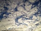 Sky junction by Steve Leadbeater