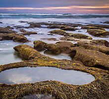 13th Beach ~ Rock Pool by Julie Begg