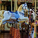 Carousel in Nice, France by Gerda Grice