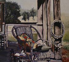 """ Verandah views"" by Kobie Bosch"