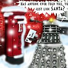 A Letter to Dalek Santa by ToneCartoons