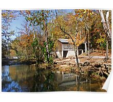John Wesley Hall Grist Mill Poster