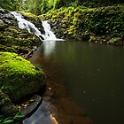 """Darragumai Falls"" ∞ Lamington National Park, QLD - Australia by Jason Asher"