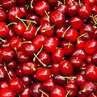 Red Cherries  by Kuzeytac