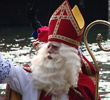 The Arrival of Sinterklaas (Saint Nick) by Alison Netsel
