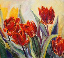Spring Fire by Barbara Pommerenke