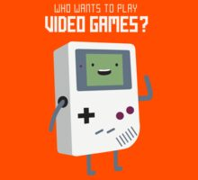 Who wants to play video games? by Dean Lord