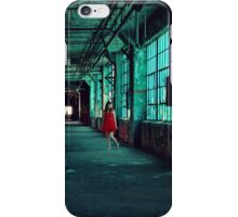 The Green Hallway iPhone Case/Skin