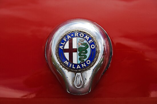 Alfa Romeo Badge by Flo Smith