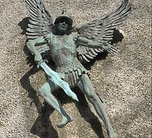 St.Michael of Lewes ( 2 )  The Archangel. by Larry Lingard-Davis