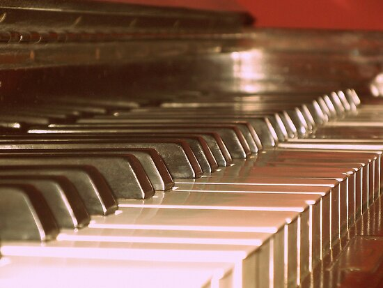 Piano keys by stelhope