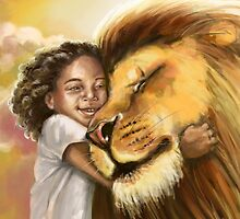 Lion's Kiss by Cindy El Sharouni