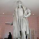Discovering Columbus Art Installation, Christpher Columbus Statue, Columbus Circle, New York by lenspiro
