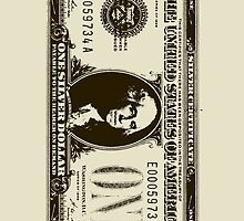 WASHINGTON-SILVER DOLLAR BILL TOO by OTIS PORRITT