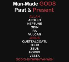 Man-made Gods, Past and Present by Samuel Sheats