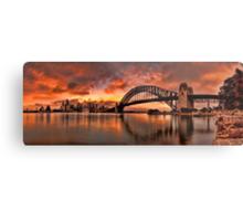 Kirribilli Sunrise - Panorama Metal Print