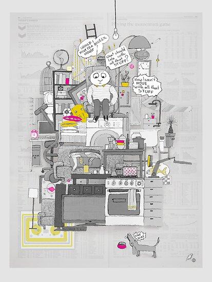 Crap Stuff by Ruta Dumalakaite