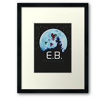 E.B. Extraterrestrial.Bike? Framed Print