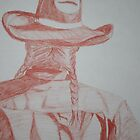 Red Series-Cowgirl  by texasrose34