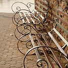 Curly benches by venitakidwai1