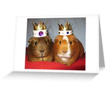 King Eric and Queen Ernie Greeting Card