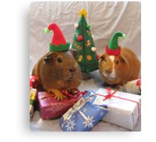 Santa's Little Helpers Canvas Print