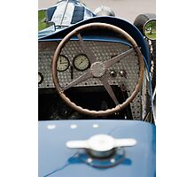 Bugatti Dashboard Photographic Print
