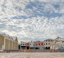 Bay Street (View from Prince George Wharf) in Downtown Nassau, The Bahamas by 242Digital