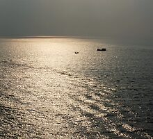 Early Morning ~ Waters by Nha Trang, Vietnam by Lucinda Walter