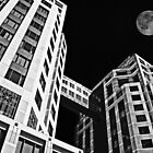 Moon Over Twin Towers #2 by Samuel Sheats