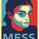 Lindsey Lohan Mess &quot;Hope Poster&quot; by BUB THE ZOMBIE