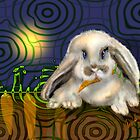 The Gardener Never Sleeps, Rabbit by Alma Lee by Alma Lee