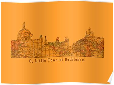 O Little Town of Bethlehem by Sarah Vernon