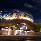 Cloud Gate Millenium Park, Chicago by kenelamb