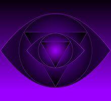 Mandala  Ajna Chakra  Brow Chakra by shoffman