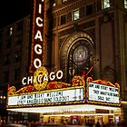 Chicago Theatre Evening, Chicago, IL - 2 by kenelamb