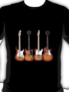 Four Sunburst Guitars T-Shirt