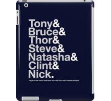 Avengers Team Jetset iPad Case/Skin