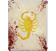 The Driver's jacket (Drive - Blood Variant) iPad Case/Skin
