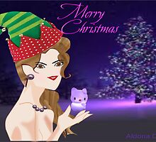 A Christmas elf ( 1031 Views) by aldona