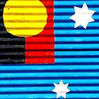 Aboriginal Flag by Dean Gale