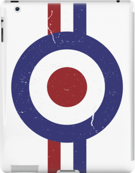Weathered Target and stripes by Auslandesign