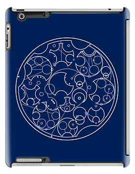 Gallifreyan Sherlock (White Print) by phantomssiren