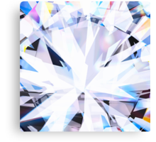 brilliant diamond Canvas Print