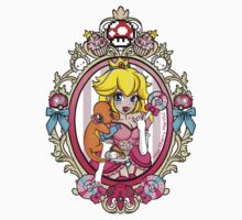 Princess Peach Pokemon Tattoo 2 by Miss Cherry  Martini