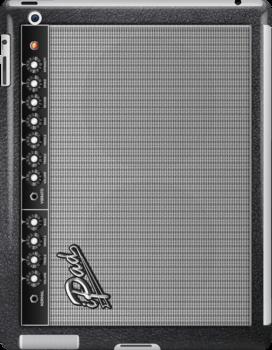 Fender Guitar Amplifier iPad Case by Alisdair Binning