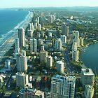 View from Q1, Gold Coast, Australia by DashTravels